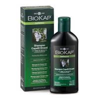 BIOKAP Shampoo per capelli grassi con abete argento e rosmarino, 200 ml