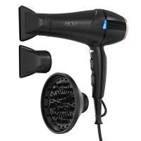 Abody Asciugacapelli Professionale Silenzioso 2300W, Phon per Capelli con Tecnologia a Ioni, 2 Velocità e 3 Temperature per un'Asciugatura Rapida e Styling a Lunga Durata