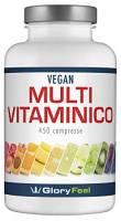 Integratore Multivitaminico e Minerali - 450 Compresse (Fornitura per più di 1 anno) - Vitamine e Minerali per uomini e donne - Tutte le vitamine essenziali in una compressa di GloryFeel
