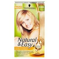 Testanera Natural & Easy, Tinta per capelli, n. 530 Biondo Chiaro - 3 Confezioni