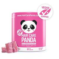 HAIR CARE PANDA vitamine per capelli gelatine vegane biotina capelli densi forti 60 gelatine