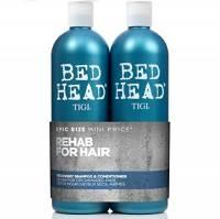 Tigi Bed Head Urban Anti+Dotes, Shampoo 750 ml + Condizionatore 750 ml, Set da 2 Pezzi