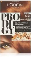 L'Oréal Paris Prodigy Colorazione Permanente, 6.41 Ramato Ambra Castano Chiarissimo