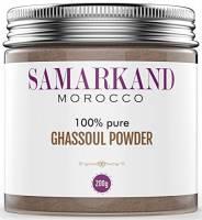 Argilla Ghassoul in Polvere (Rhassoul) Samarkand - Maschera Viso & Capelli 100% BIO Originale del Marocco 200 g