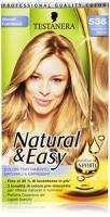 Testanera Natural&Easy Tinta per Capelli, Biondo Dorato Naturale 536 - 135 ml