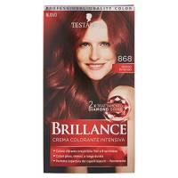 Testanera - Brillance, Crema Colorante Intensiva, 868 Rosso Intenso