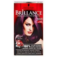 Testanera - Brillance, Crema Colorante Intensiva, 888 Londra Viola Rosso