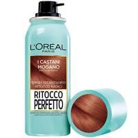 L'Oréal Paris Ritocco Perfetto Spray Istantaneo Ritocco Radici, 6 Castano Mogano