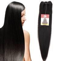 "10""-24"" Extensions Capelli Veri Matassa Tessitura Remy Human Hair Unprocessed 100g/Ciocca"