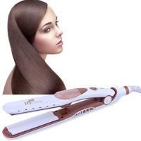 Piastra per Capelli a Vapore,Piastra 2-in-1 per Raddrizzare e Curling, piastra capelli lisci Ceramica, Piastra lisciante per capelli Professionale