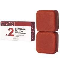 Shampoo Solido Bio Ristrutturante e Nutriente al Melograno, Fico e Te Verde 130 g - Enooso - 100% Artigianale Biologico Naturale Vegano - Made in Italy