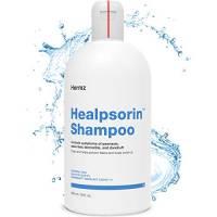 Healpsorin Psoriasi Shampoo 500ml con 2% Acido Salicilico - Aiuta Ad Alleviare I Sintomi Di Psoriasi, Eczema, Dermatite Seborroica, Prurito Al Cuoio Capelluto E Forfora - Trattamento Terapeutico