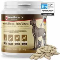 Veddelholzer VINCITORE CERTIFICATO 2020 Compresse per le articolazioni dei cani integratori per cani con cozza dalle labbra verdi MSM e artiglio del diavolo Glucosamina e collagene