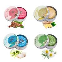 4 Pezzo Shampoo Solido, Djtanak all'essenza naturale alle erbe Trattamento vari profumi per tutti i tipi di capelli, profumo per capelli (Shampoo alla camomilla alla menta, zenzero, cannella e menta)
