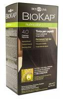 Bios Line 53811 Biokap Nutricolor Delicato 4.00, Castano Naturale