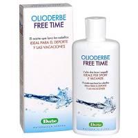 DERBE - OLIODERBE FREETIME 1 CONFEZIONE DA 200 ML, olio lavante ideale sport e vacanze